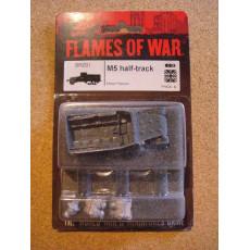 BR201 - M5 half-track (blister figurines Flames of War en VO)