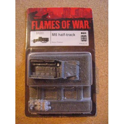 BR201 - M5 half-track (blister figurines Flames of War en VO) 002