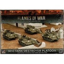 M10 Tank Destroyer Platoon (boîte figurines Flames of War en VO)