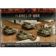 M10 Tank Destroyer Platoon (boîte figurines Flames of War en VO) 001