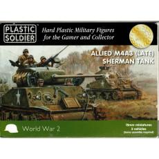 Allied M4A3 (Late) Sherman Tank (boîte figurines 15mm Plastic Soldier en VO)