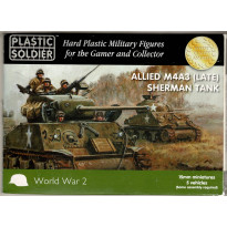 Allied M4A3 (Late) Sherman Tank (boîte figurines 15mm Plastic Soldier en VO) 002