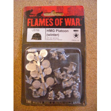 US755 - HMG Platoon Winter (blister figurines Flames of War en VO)