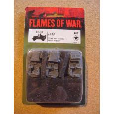 US411 - Jeep (blister figurines Flames of War en VO)
