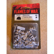 US737 - Bazooka Teams Late (blister figurines Flames of War en VO)