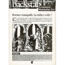 Backstab N° 33 - Encart de scénarios (magazine de jeux de rôles)