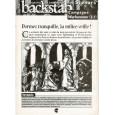 Backstab N° 33 - Encart de scénarios (magazine de jeux de rôles) 001
