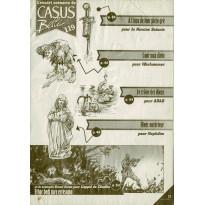 Casus Belli N° 119 - Encart de scénarios (magazine de jeux de rôle)