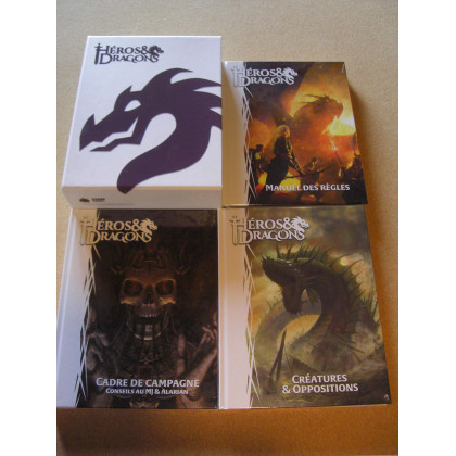 Héros & Dragons - Coffret + 3 livres de règles (jdr de Black Book Editions en VF) 003