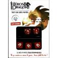 Héros & Dragons - Set de dés pipés de Papy Donjon (jdr de Black Book en VF) 004