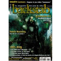 Backstab N° 32 (le magazine des jeux de rôles)