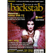 Backstab N° 33 (le magazine des jeux de rôles)