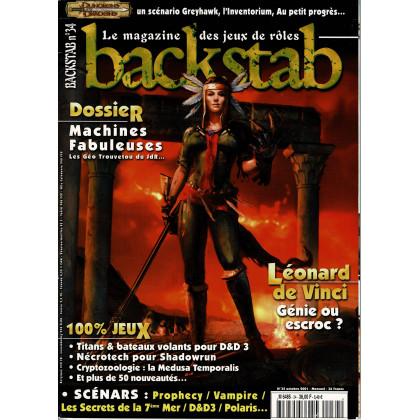 Backstab N° 34 (le magazine des jeux de rôles) 002