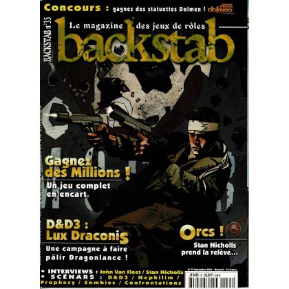 Backstab N° 35 (le magazine des jeux de rôles) 002
