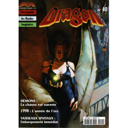 Dragon Magazine N° 40 (L'Encyclopédie des Mondes Imaginaires) 002