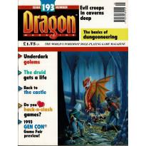 Dragon Magazine N° 193 (magazine de jeux de rôle en VO) 003