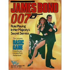 James Bond 007 Rpg - The Complete Basic Game (livre de base en VO)