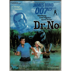 Dr. No (boîte James Bond Rpg de Victory Games en VO)