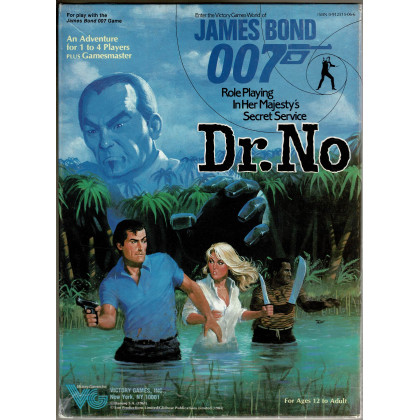 Dr. No (boîte James Bond Rpg de Victory Games en VO) 003