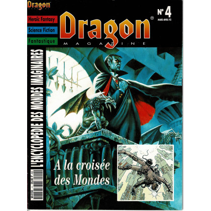 Dragon Magazine N° 4 (L'Encyclopédie des Mondes Imaginaires) 003