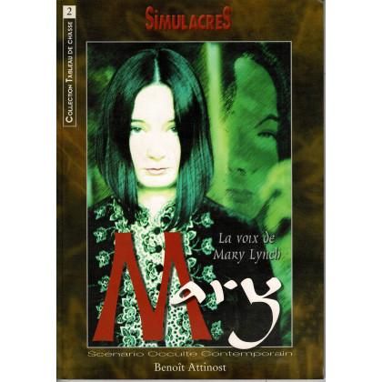 Mary - La voix de Mary Lynch (jdr Simulacres Occulte contemporain en VF) 002