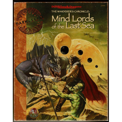 Mind Lords of the Last Sea (boîte jdr Dark Sun AD&D 2e édition en VO) 001