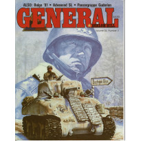 General Vol. 25 Nr. 3 (magazine jeux Avalon Hill en VO)