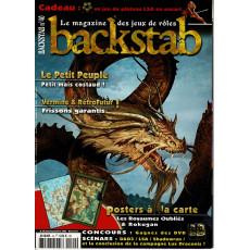 Backstab N° 40 (le magazine des jeux de rôles)
