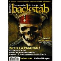 Backstab N° 44 (le magazine des jeux de rôles)