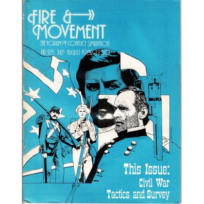 Fire & Movement 28 (magazine de wargames en VO) 001