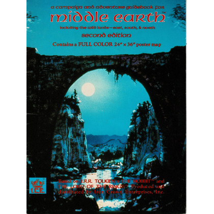 Middle Earth campaign and adventure guidebook - Second Edition (jdr MERP en VO) 001