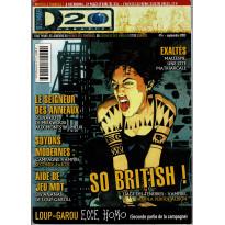 D20 Magazine N° 14 (magazine de jeux de rôles) 001