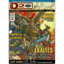 D20 Magazine N° 20 (magazine de jeux de rôles) 001