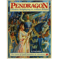 Pendragon - Chivalry Roleplaying in Arthur's Britain (Rpg Boîte de base de Chaosium en VO) 001