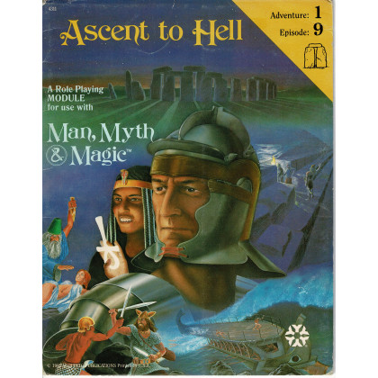 Ascent to Hell (jdr Man, Myth & Magic de Yaquinto en VO) 001