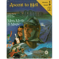 Ascent to Hell (jdr Man, Myth & Magic de Yaquinto en VO) 001