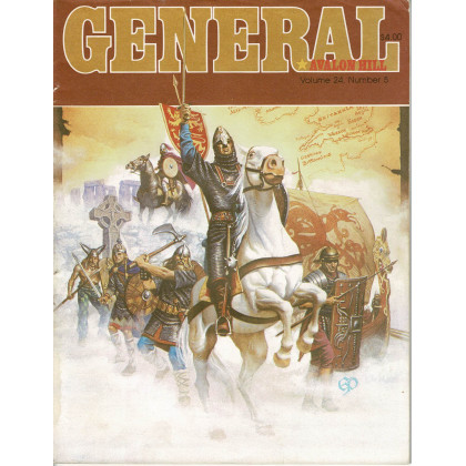 General Vol. 24 Nr. 5 (magazine jeux Avalon Hill en VO) 001