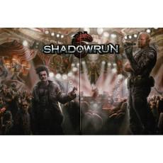 Shadowrun 5e édition - Ecran du MJ (jdr Black Book Editions en VF)