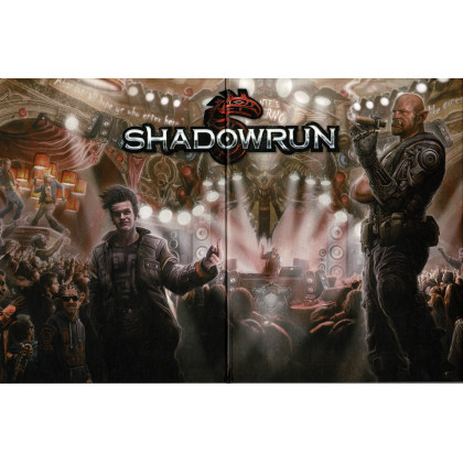 Shadowrun 5e édition - Ecran du MJ (jdr Black Book Editions en VF) 001