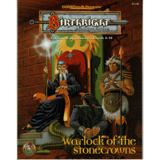Birthright - Warlock of the Stonecrows (jdr AD&D 2e édition en VO)