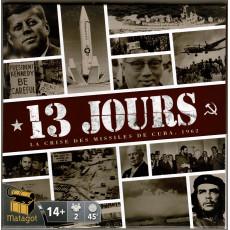 13 Jours (jeu de stratégie éditions du Matagot en VF)