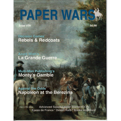 Paper Wars - Issue 58 (magazine wargames en VO) 001