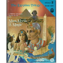 The Egyptian Trilogy (jdr Man, Myth & Magic de Yaquinto en VO) 001
