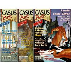 Lot Casus Belli N° 98-103-105 sans encarts (magazines de jeux de rôle)