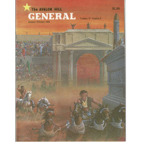 General Vol. 17 Nr. 5 (magazine jeux Avalon Hill en VO)