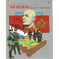 General Vol. 17 Nr. 6 (magazine jeux Avalon Hill en VO)