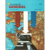 General Vol. 17 Nr. 4 (magazine jeux Avalon Hill en VO)