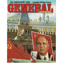 General Vol. 25 Nr. 1 + index (magazine jeux Avalon Hill en VO)