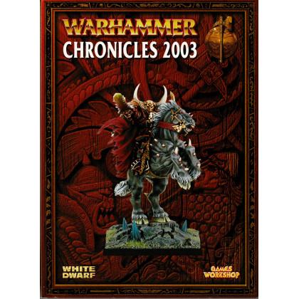 Chronicles 2003 (Compilation jeu de figurines Warhammer en VO) 001