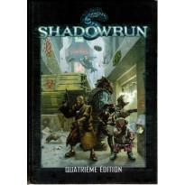 Shadowrun - Livre de base Quatrième Edition (jdr BlackBook Editions en VF)